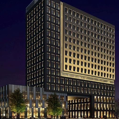 深圳南湾酒店亮化