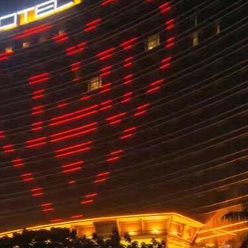 酒店墙体亮化