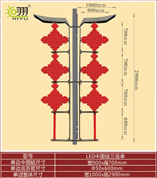 LED中国结三连串