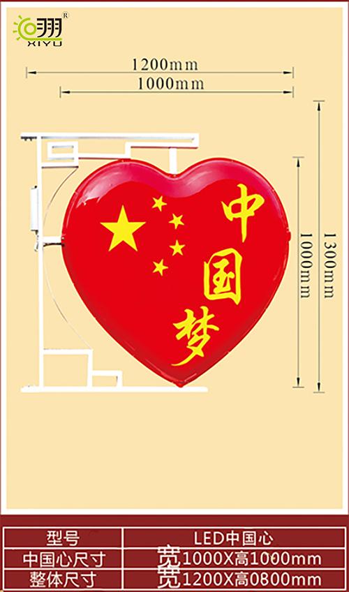 LED中国心