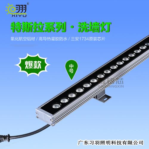LED洗墙灯特斯拉单排