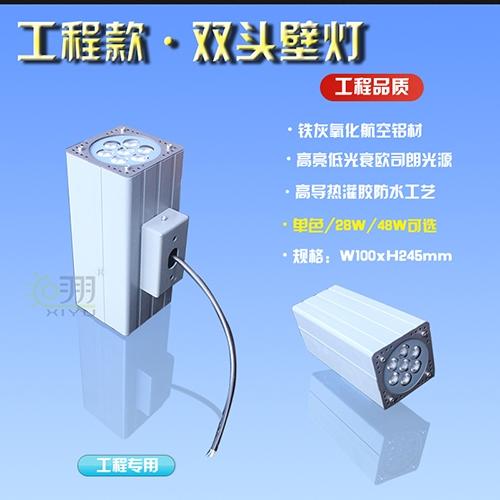 陕西工程款·双头壁灯100-245