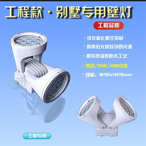 陕西工程款·别墅专用壁灯24W